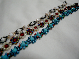 I made these bracelets! 这些是我做的!