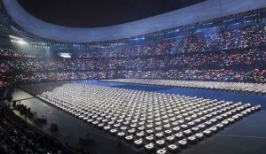 Beijing Olympics Opening Ceremony, (Itsuo Inouye/The Associated Press)