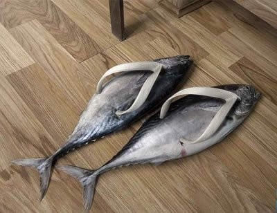 Weird shoes a jolly affair for Why do i smell like fish after intercourse