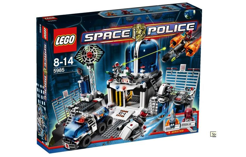 Lego 5985 space police central www toysnbricks com